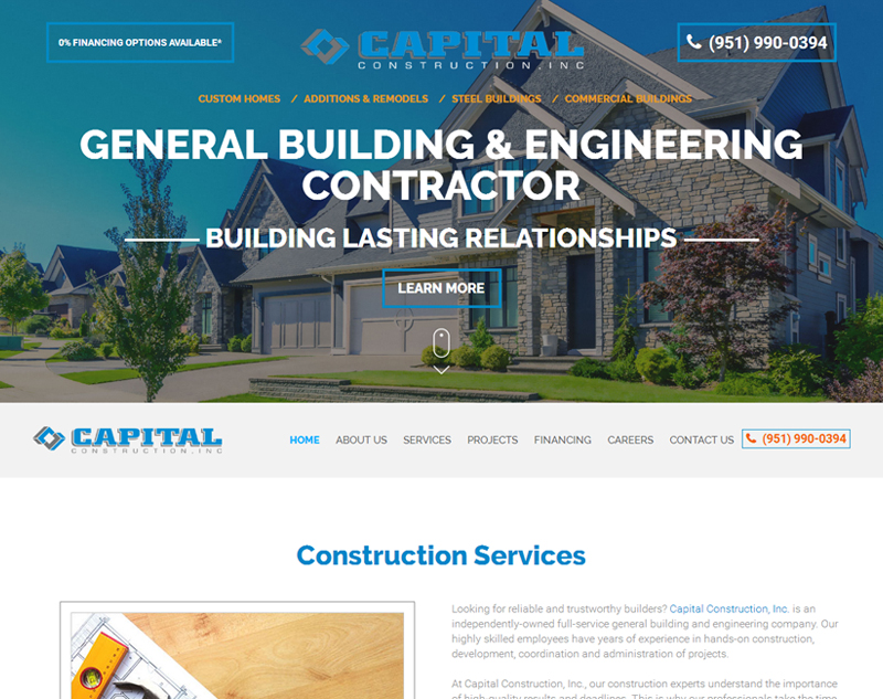 Capital Construction INC